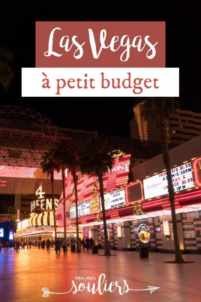 Voyage à Las Vegas à petit budgetVoyage à Las Vegas à petit budget