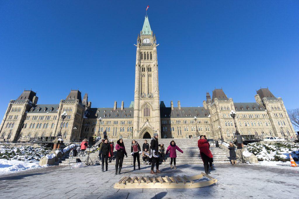 Colline parlementaire - Quoi faire à Ottawa en hiver