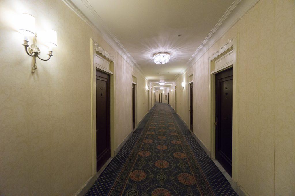 Corridor de l'hôtel - Où dormir à Ottawa, Canada