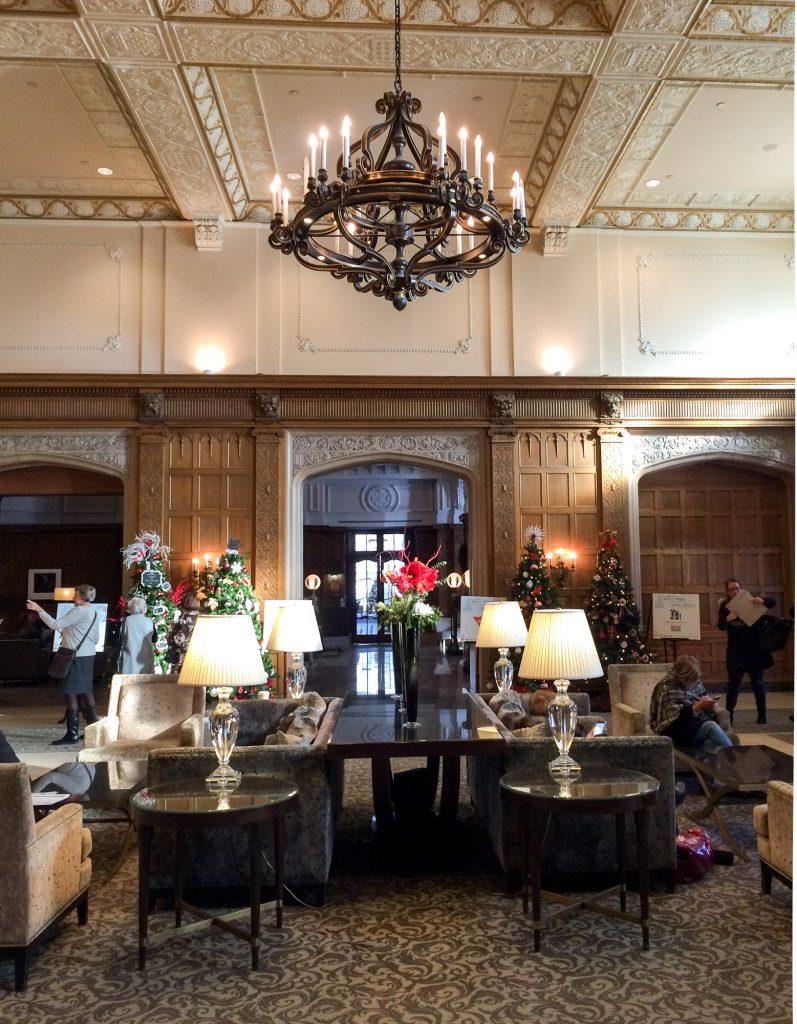 Hébergement à Ottawa - lobby