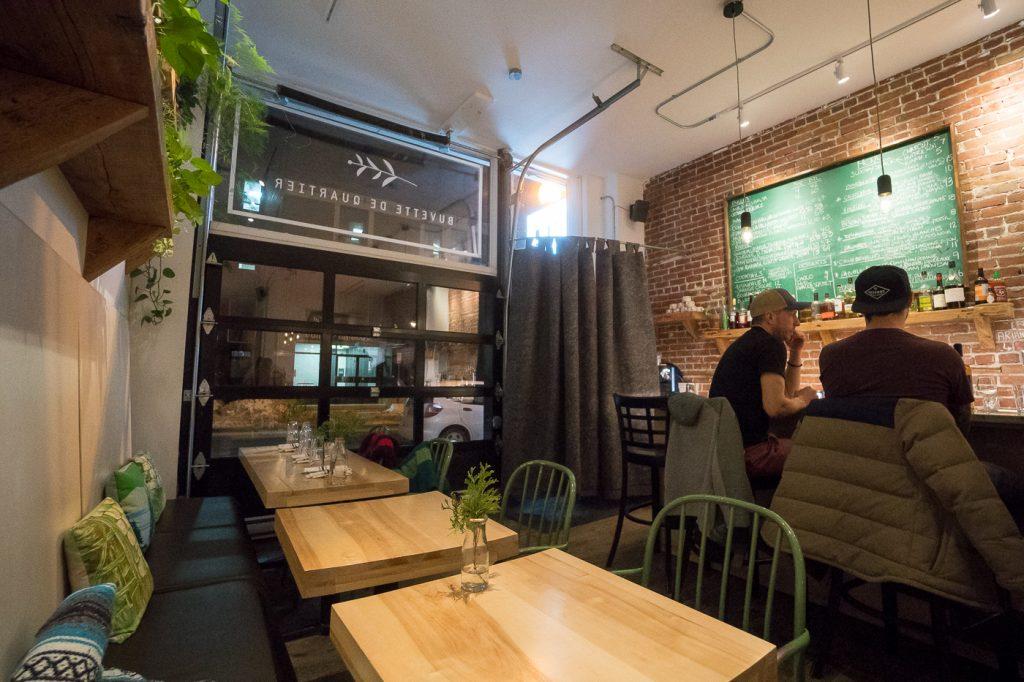 Restaurant Épi Buvette de quartier - Trois-Rivières à table