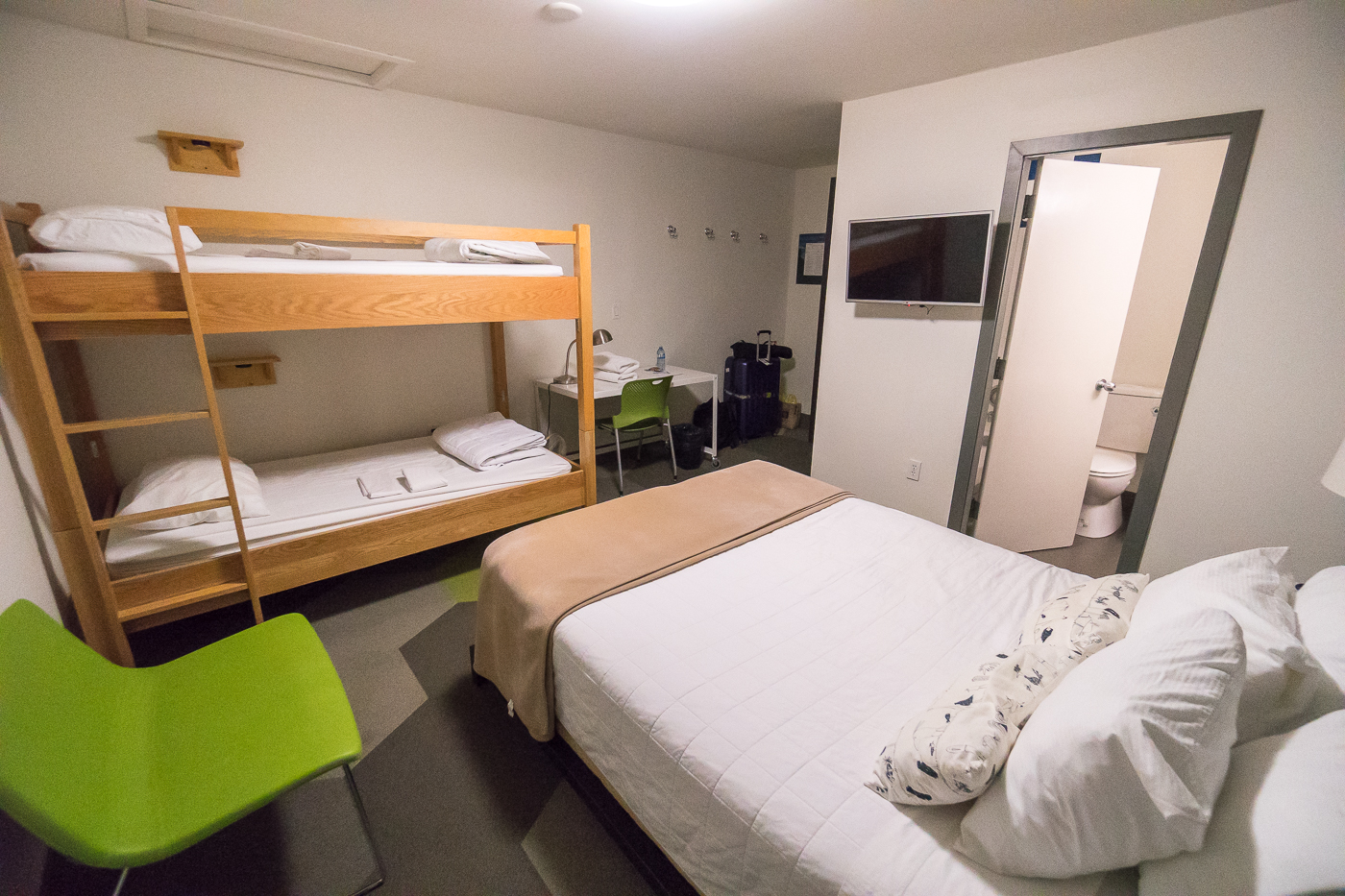 Chambre privée au HI Calgary - Où dormir en Alberta, Canada