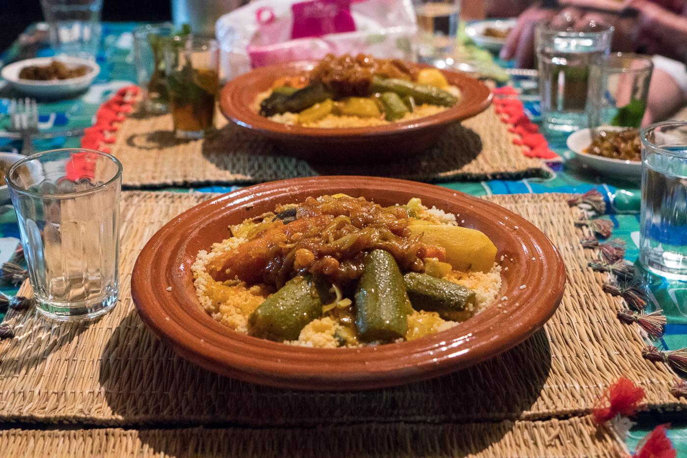 Couscous du Maroc de la mère du souk de Marrakech Food Tours