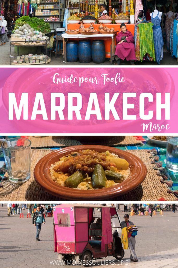Guide pour foodie à Marrakech, Maroc