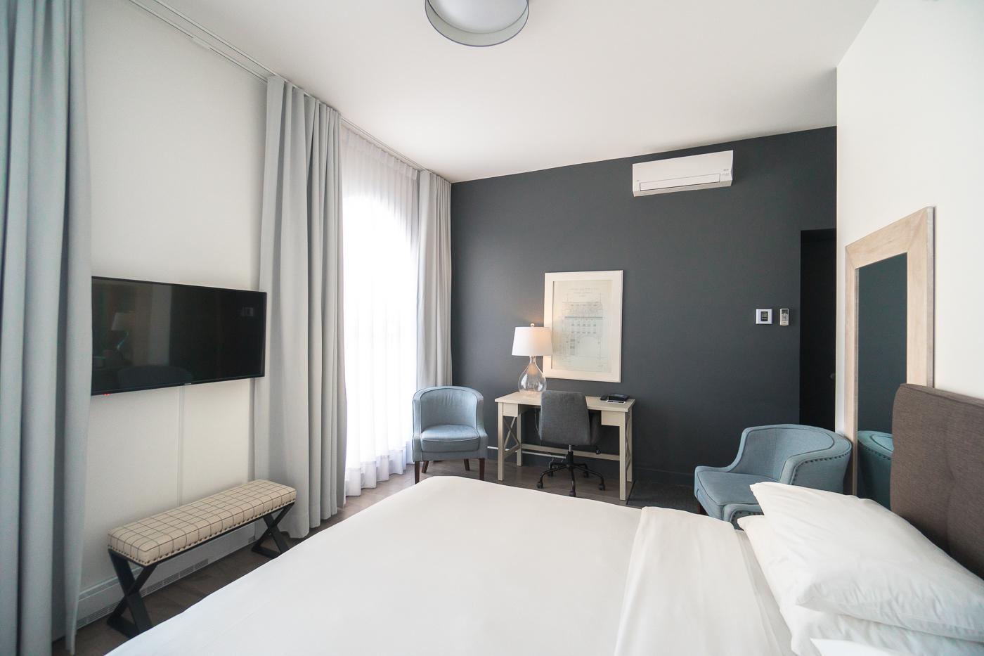 Ma chambre à l'hôtel OuiGO - Où dormir à Trois-Rivières, Mauricie, Québec