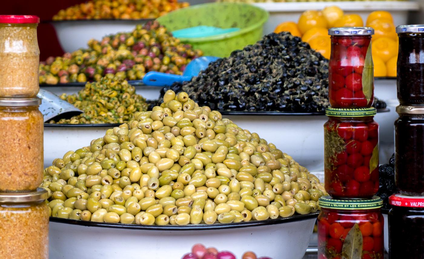 Olives à goûter à Marrakech - Voyage au Maroc