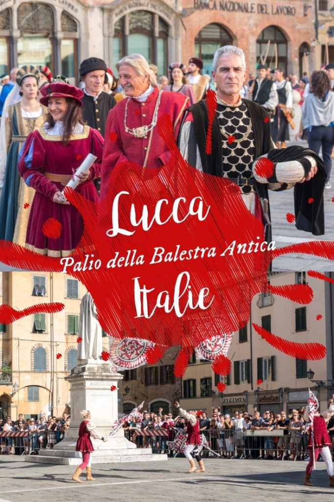 Palio della Balesta Antica à Lucca, Italie