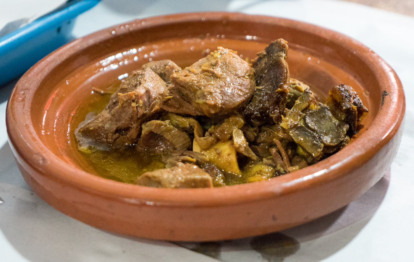Tanjia, repas de viande