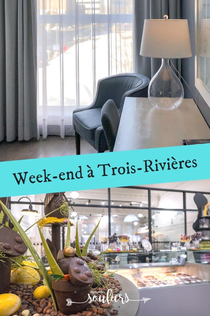 Voyage d'un week-end à Trois-Rivières - Québec, Canada