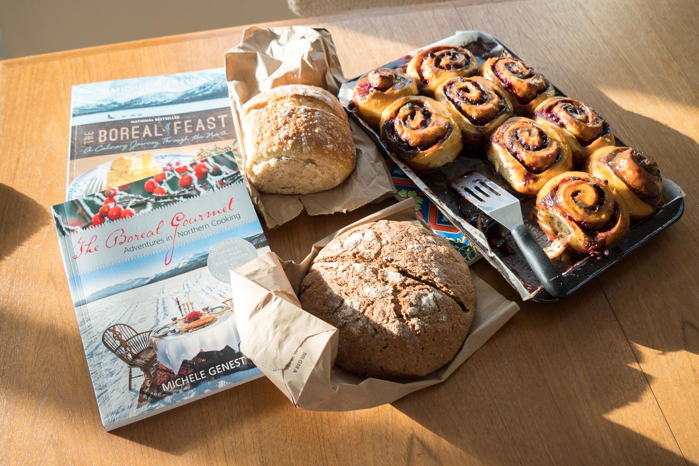 Création de pains dessert Miche Genest - The Boreal Gourmet