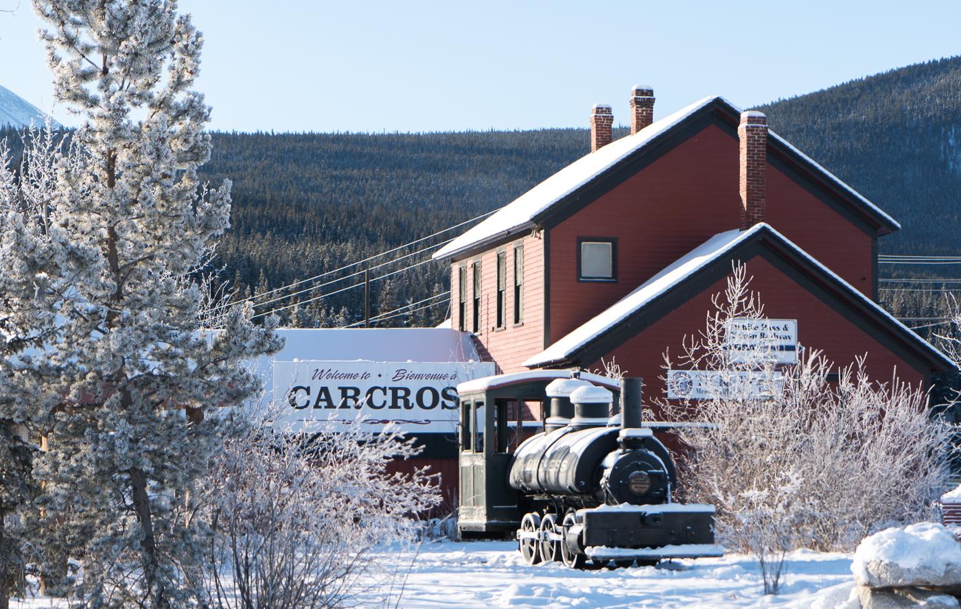 Gare de Carcross à faire au Yukon