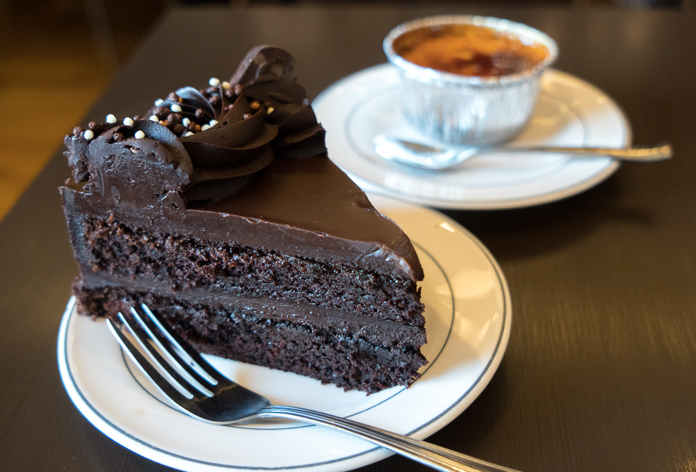 Gâteau - Quoi manger à Whitehorse, Yukon - The Claim Café