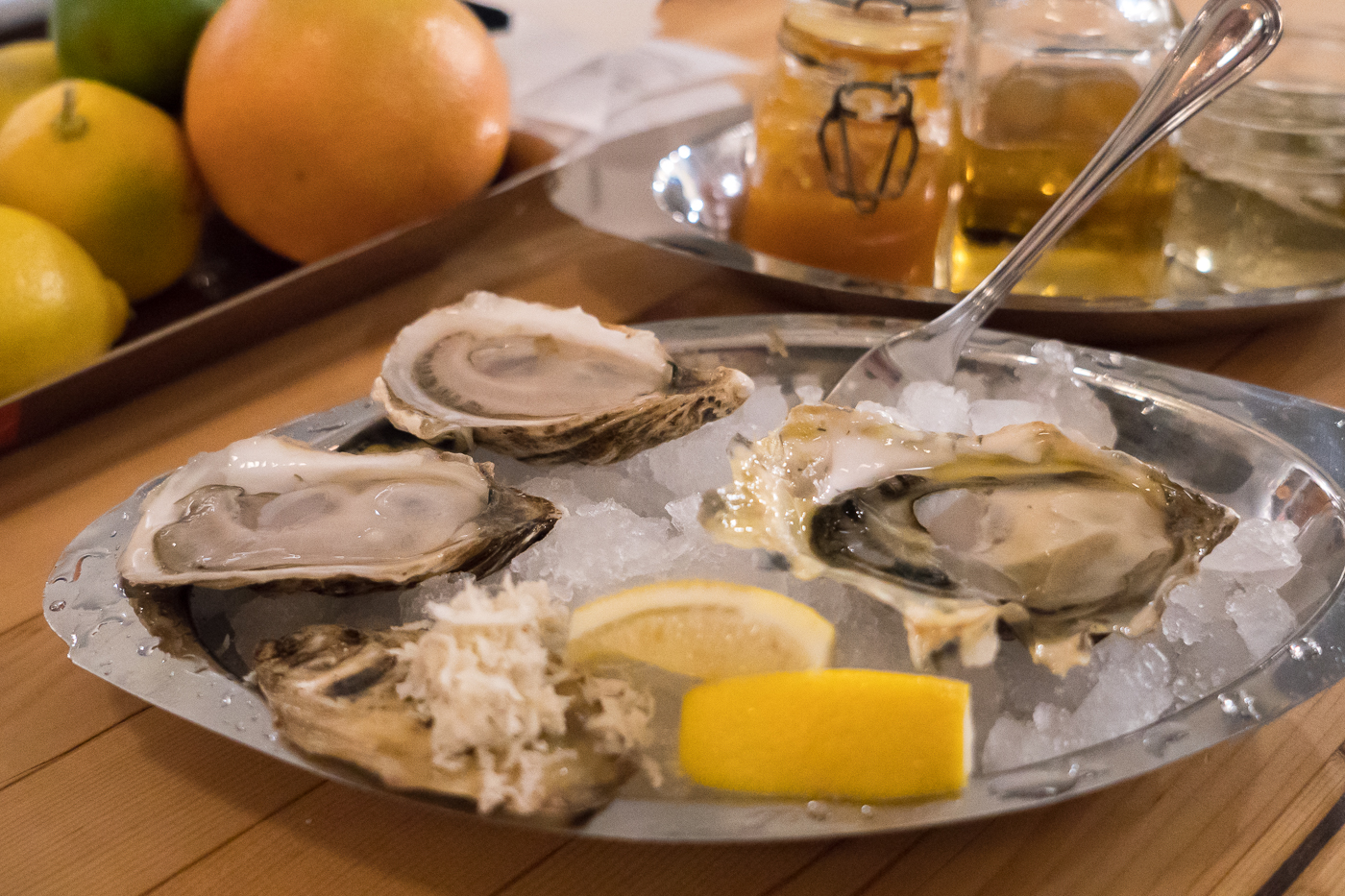 Huîtres au Wayfarer Oyster House - Où manger à Whitehorse