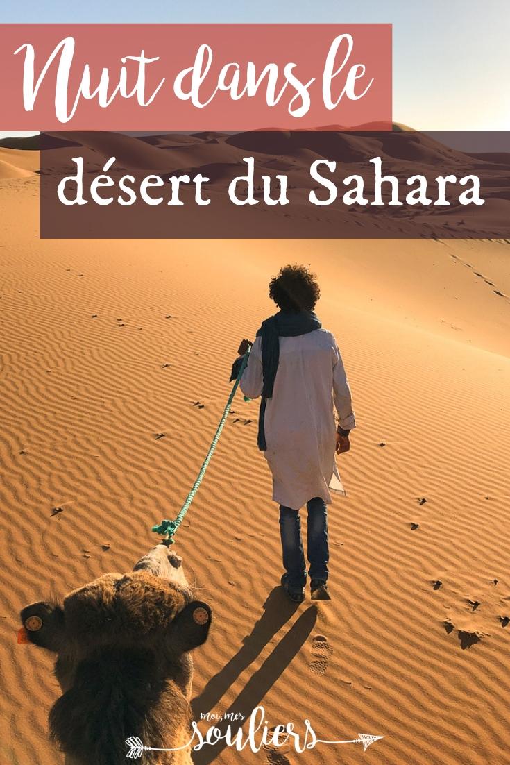 Nuit dans le désert du Sahara à Merzouga - Voyage au Maroc