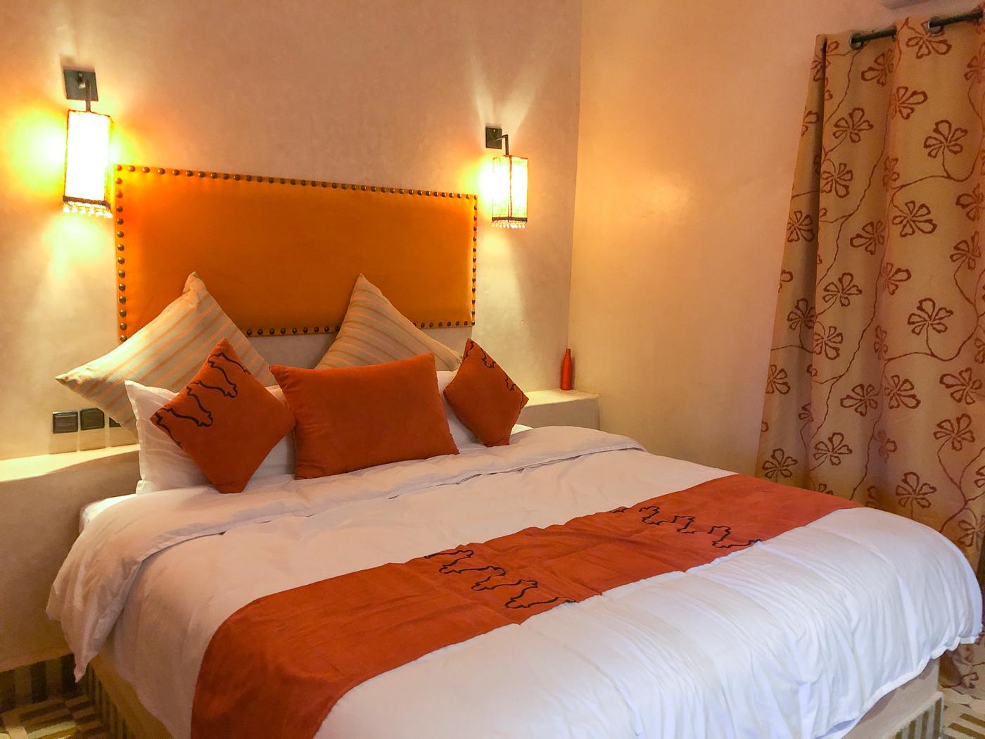 Où dormir dans le désert du Maroc - Riad Azawad à Merzouga - Erg Chebbi