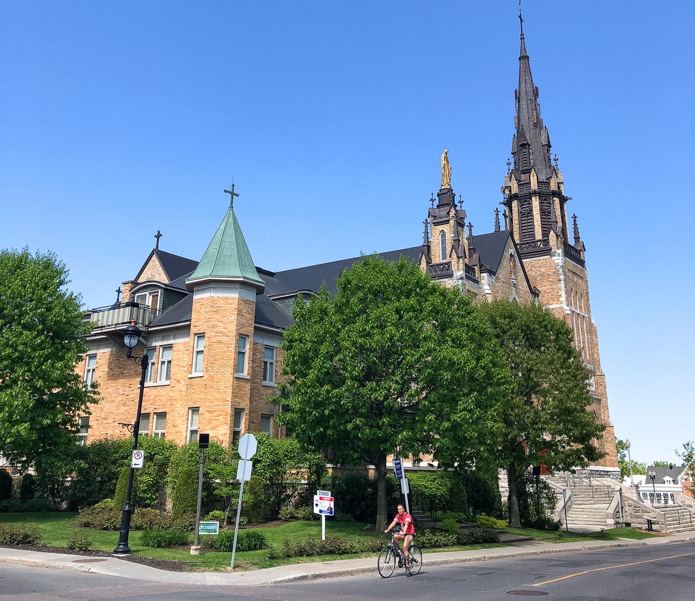 Église Saint-Frédéric de Drummondville au Québec