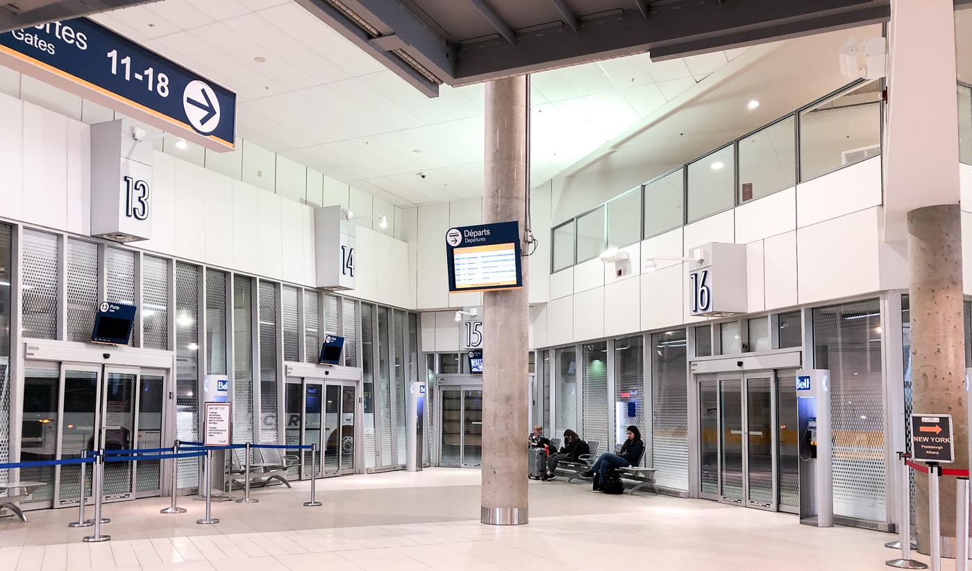 Gare de bus de Montréal, Québec, Canada