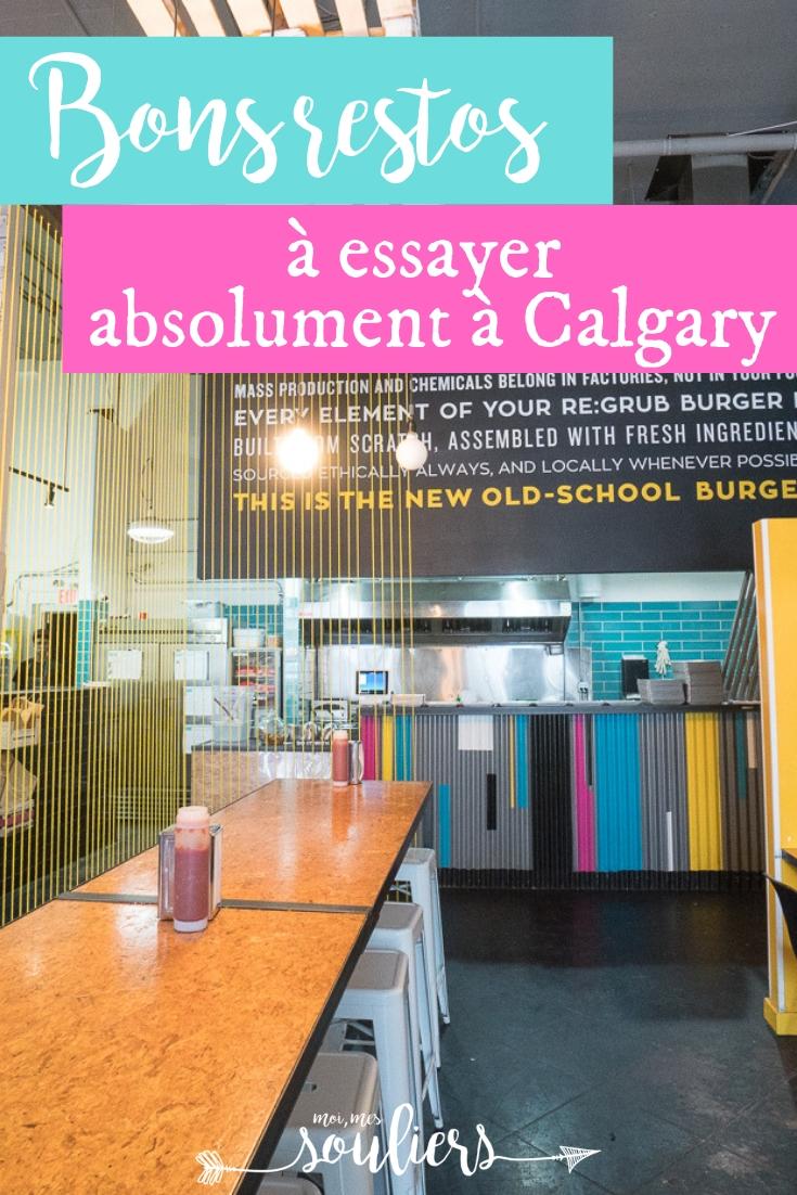Bons restaurants à Calgary, Alberta