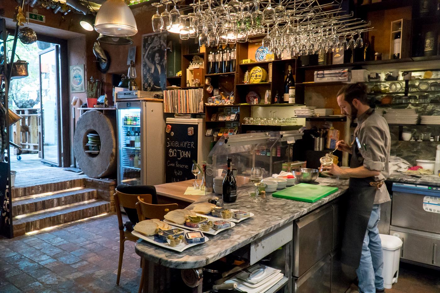 Cuisine et salle à manger du Beef Bar de Frohnleiten