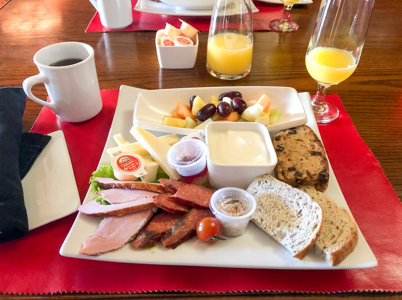 Déjeuner-brunch d'ingrédients locaux À la Bonne Vôtre de Drummondville
