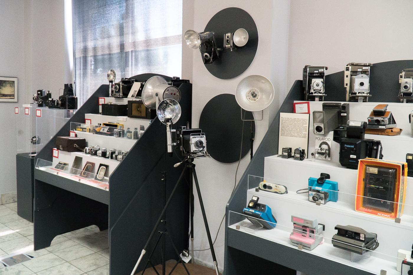 Intérieur du musée national de la photographie de Drummondville