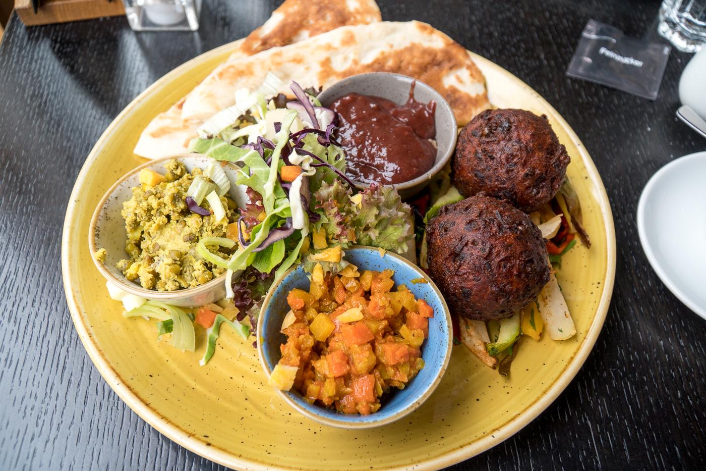 Petit déjeuner brunch indien - Quoi manger à Graz en Autriche