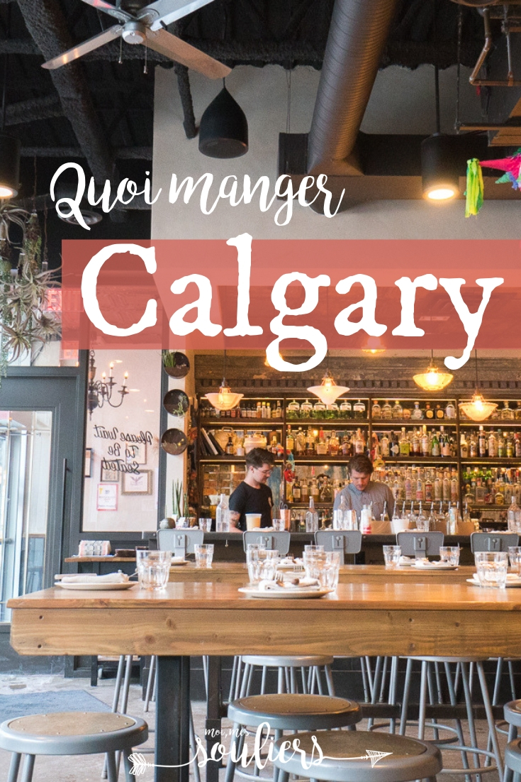 Quoi manger à Calgary au Canada