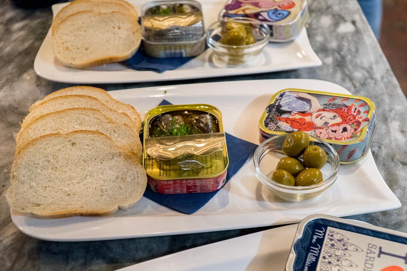 Sardines au Beef bar de Frohnleiten près de Graz en Autriche