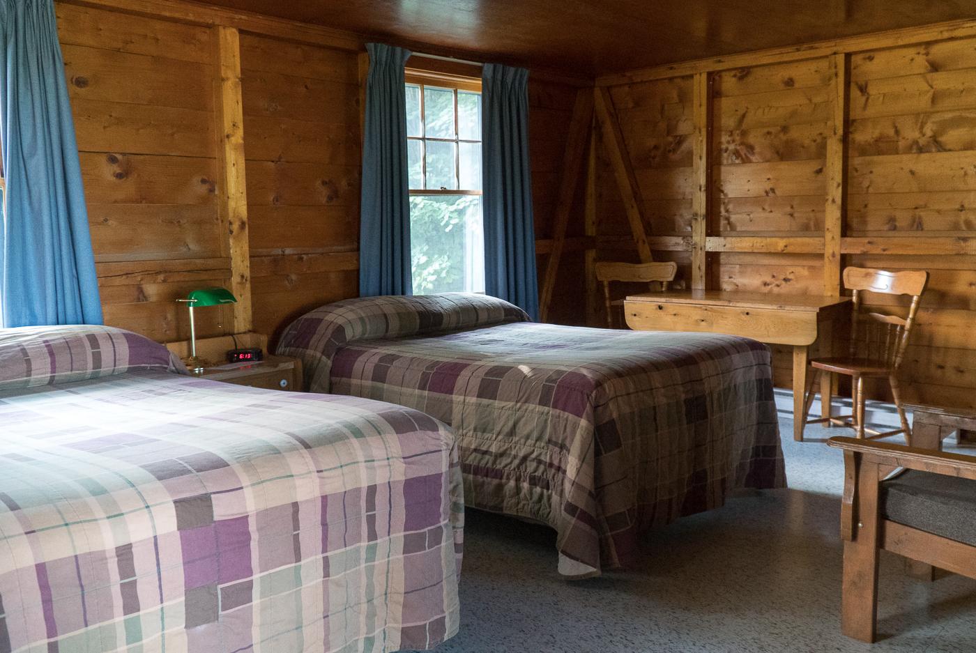 Intérieur du chalet Fundy Highlands à Alma