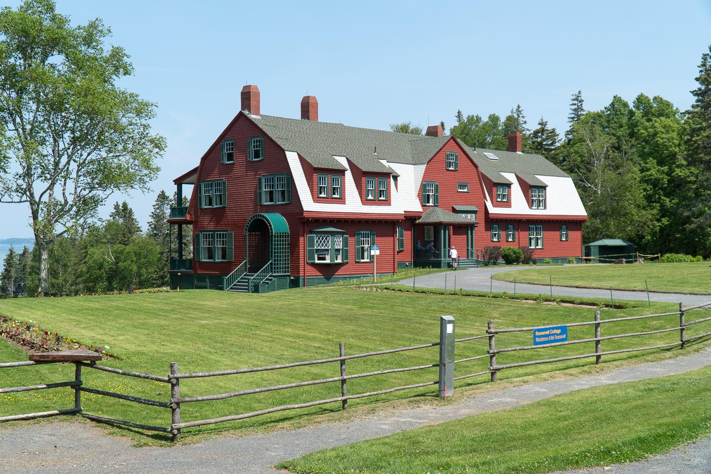maison des Roosevelt à Campobello Island