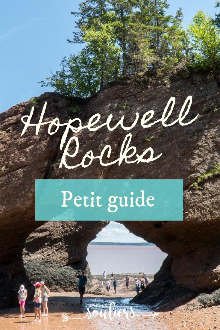 Petit guide de Hopewell Rocks