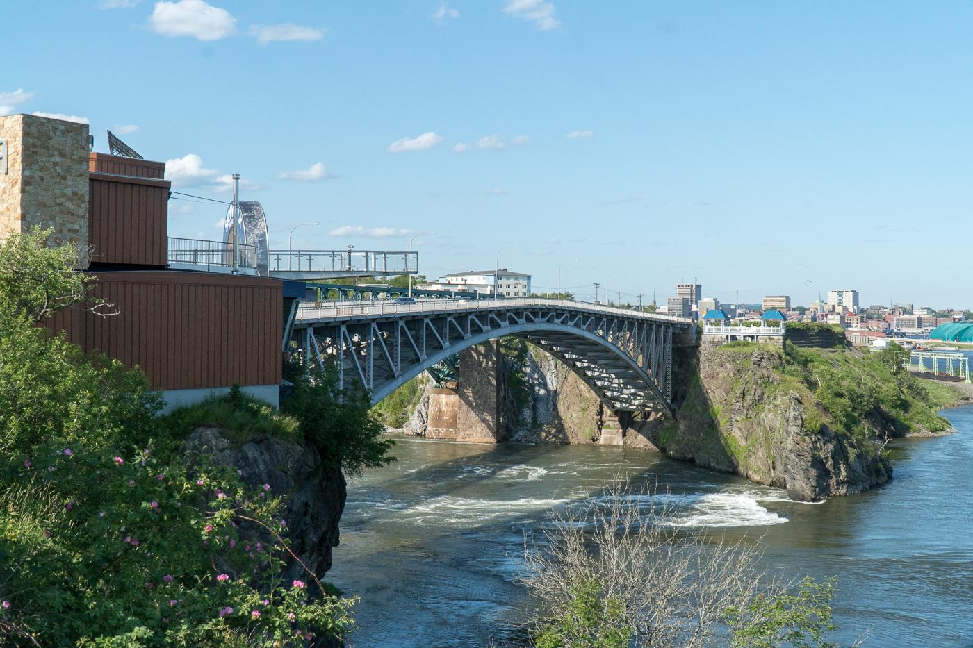 pont de St-John, Reversing Falls