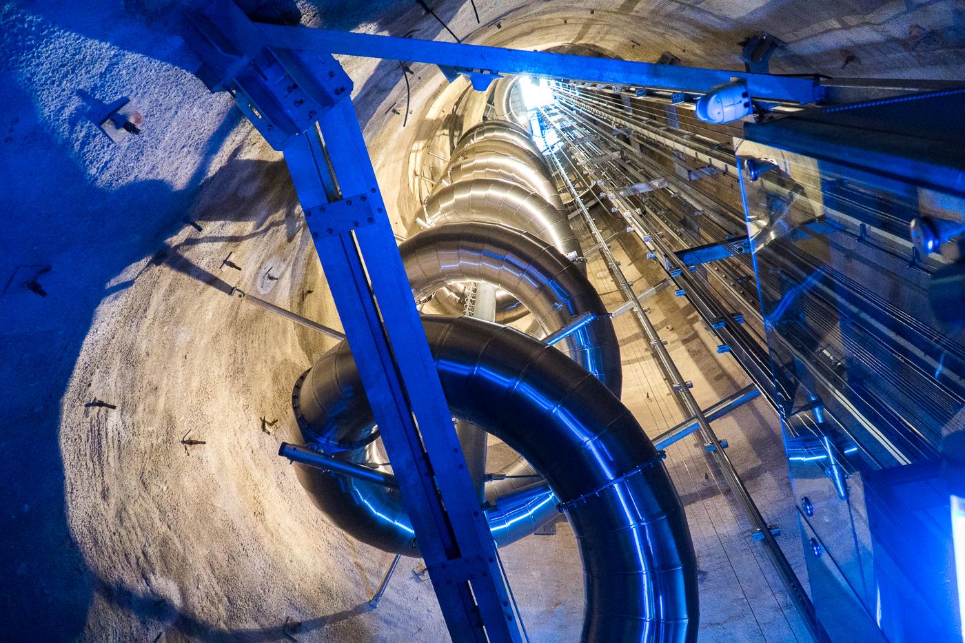 Schlossbergrutsche, plus grande glissoire intérieure au monde à faire à Graz