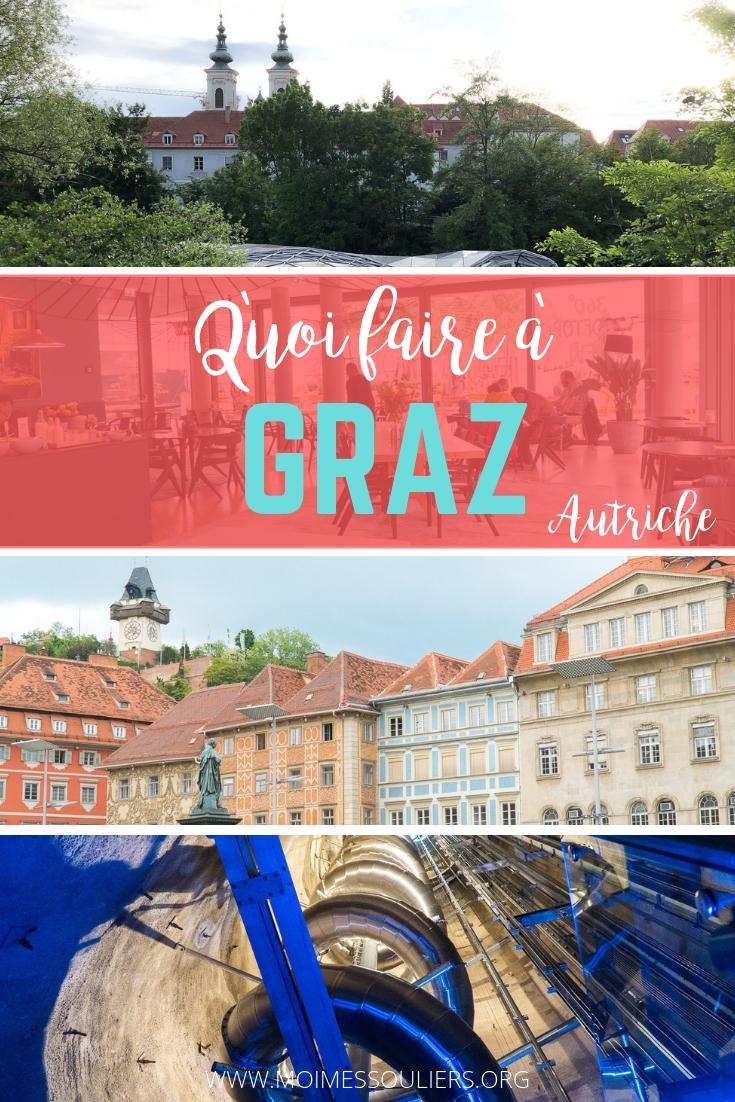 Quoi faire à Graz en voyage en Autriche