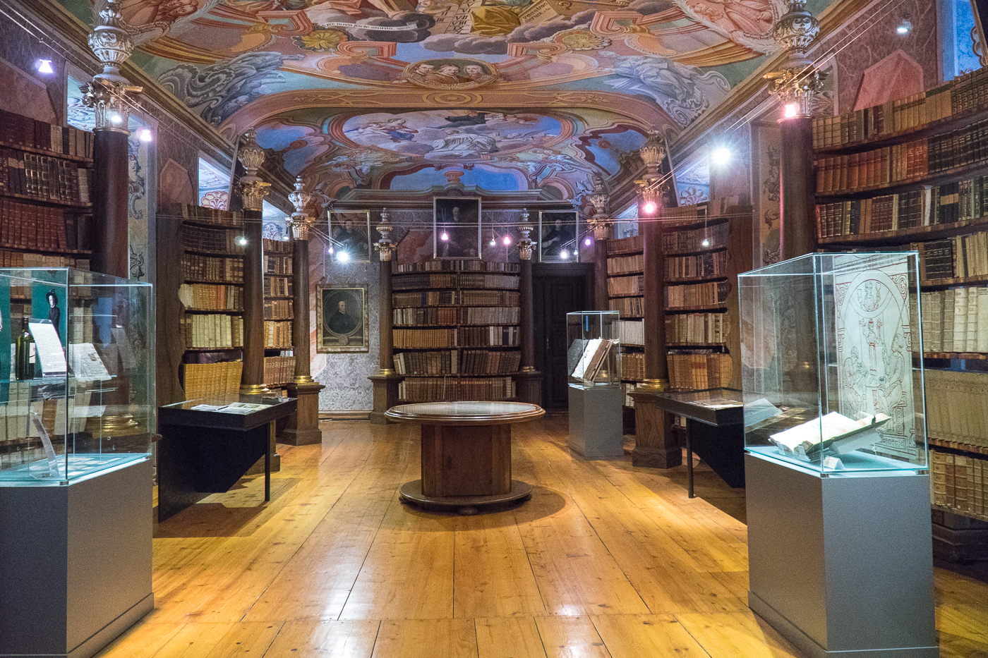 Bibliothèque du monastère Stift Rein
