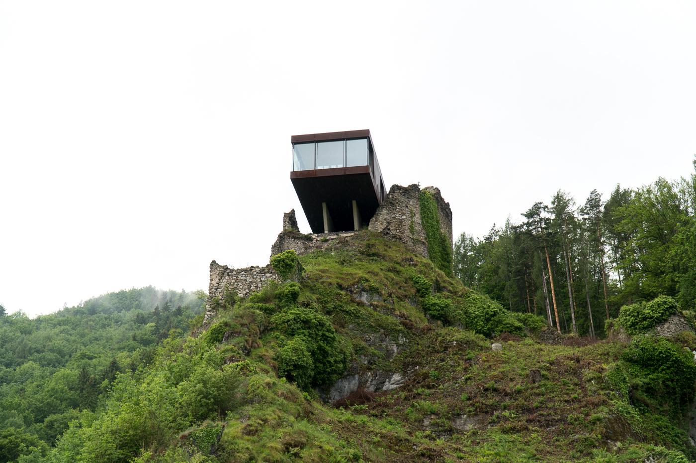 Bureau du patron Burg Rabenstein Forteresse
