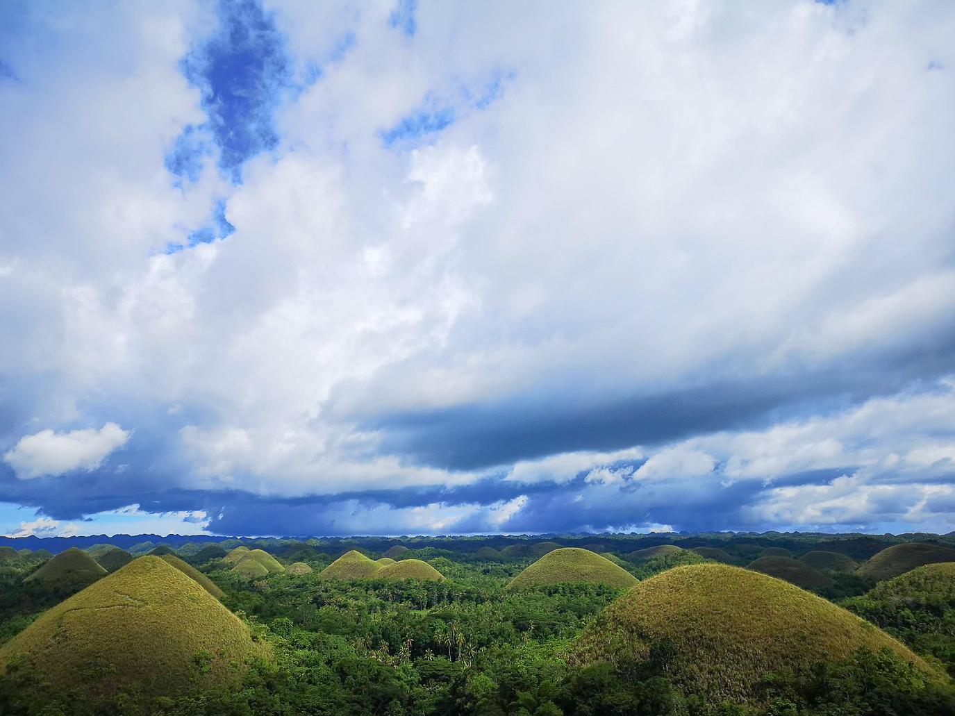Ciel au-dessus des arbres - Danao Beach Panglao