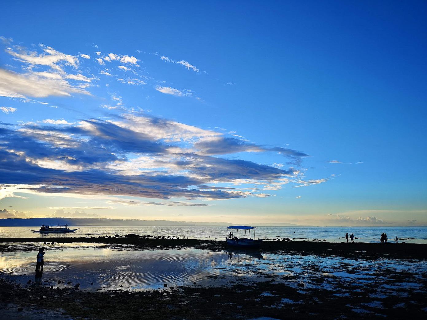 Coucher de soleil sur Panglao Beach