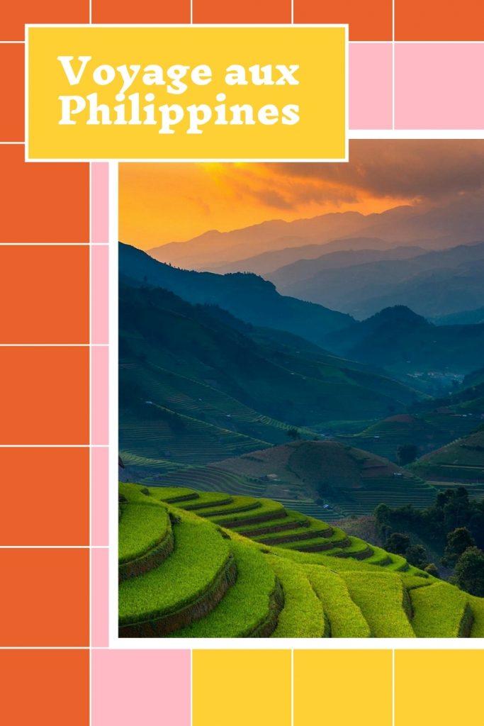 Guide de séjour aux Philippines pour Pinterest