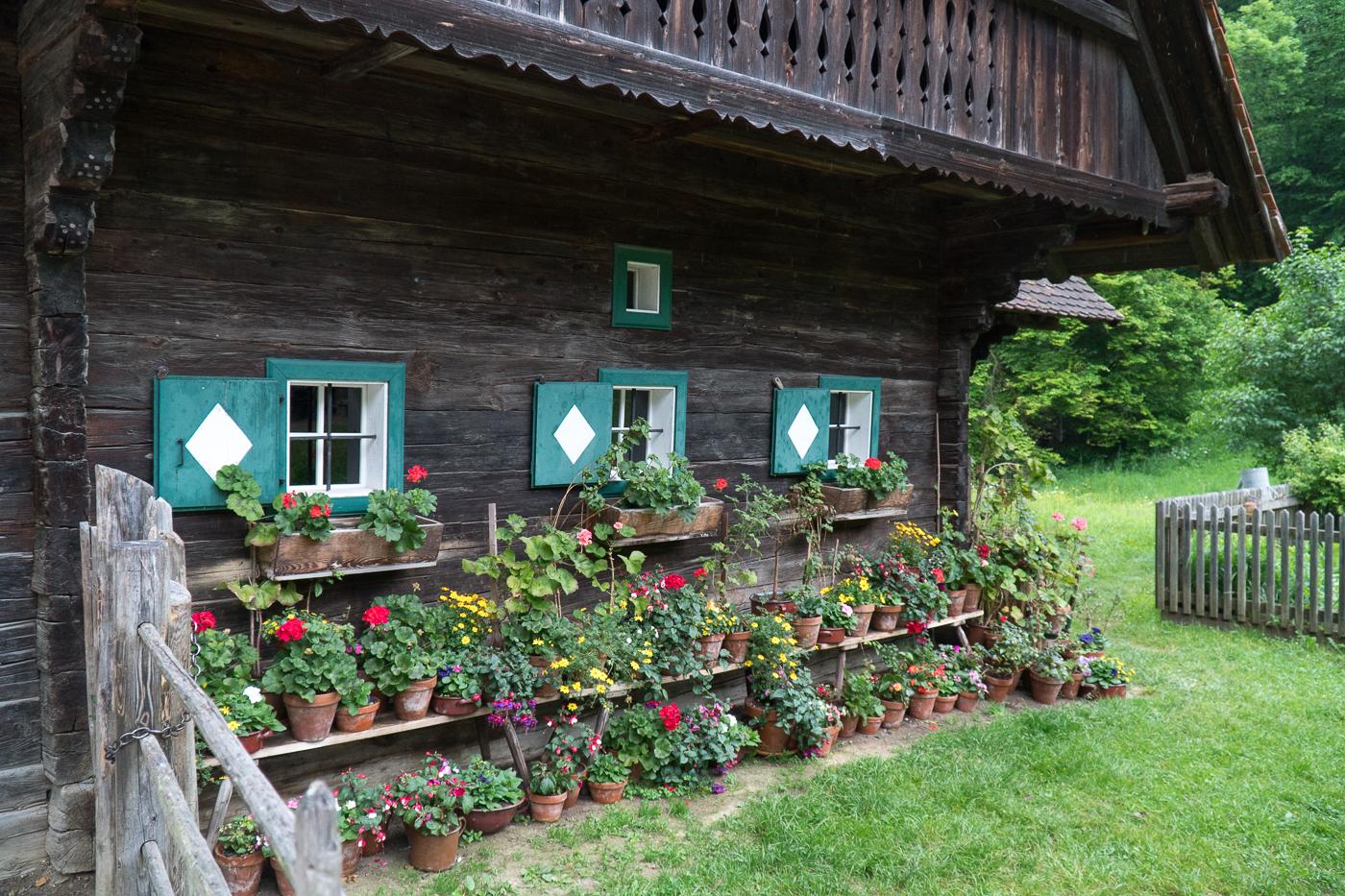 Maison ancestrale Austrian Open Air Museum Stubing