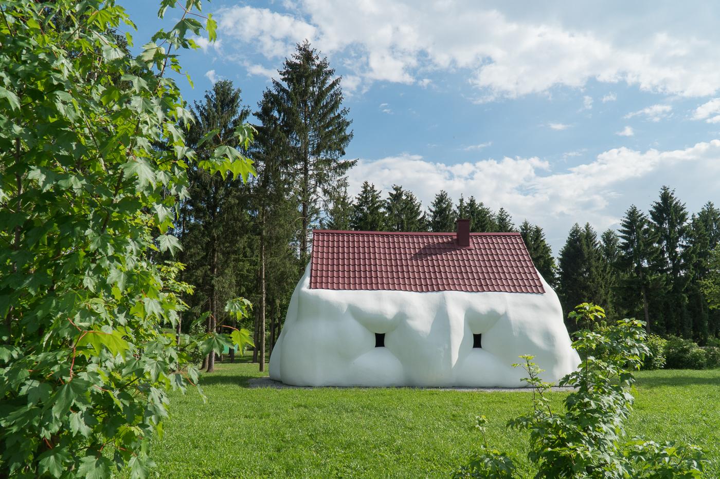 Maison géante au Österreichischer Skulpturen Park