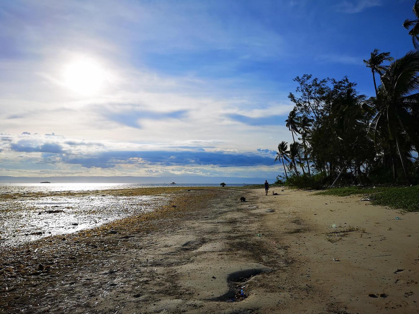 Plage de Danao Beach à Panglao aux Philippines
