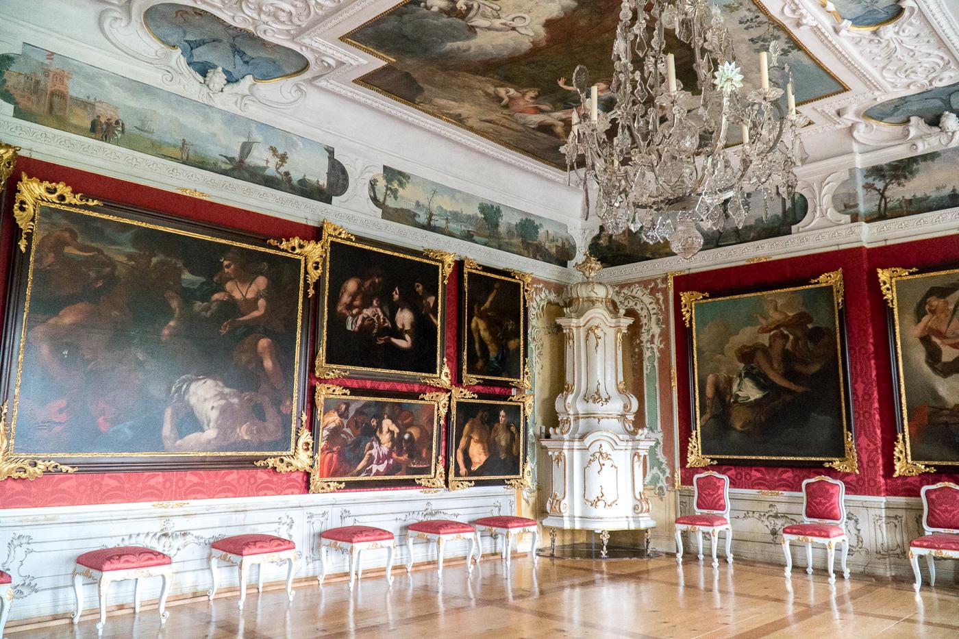 Salle du château Eggenberg