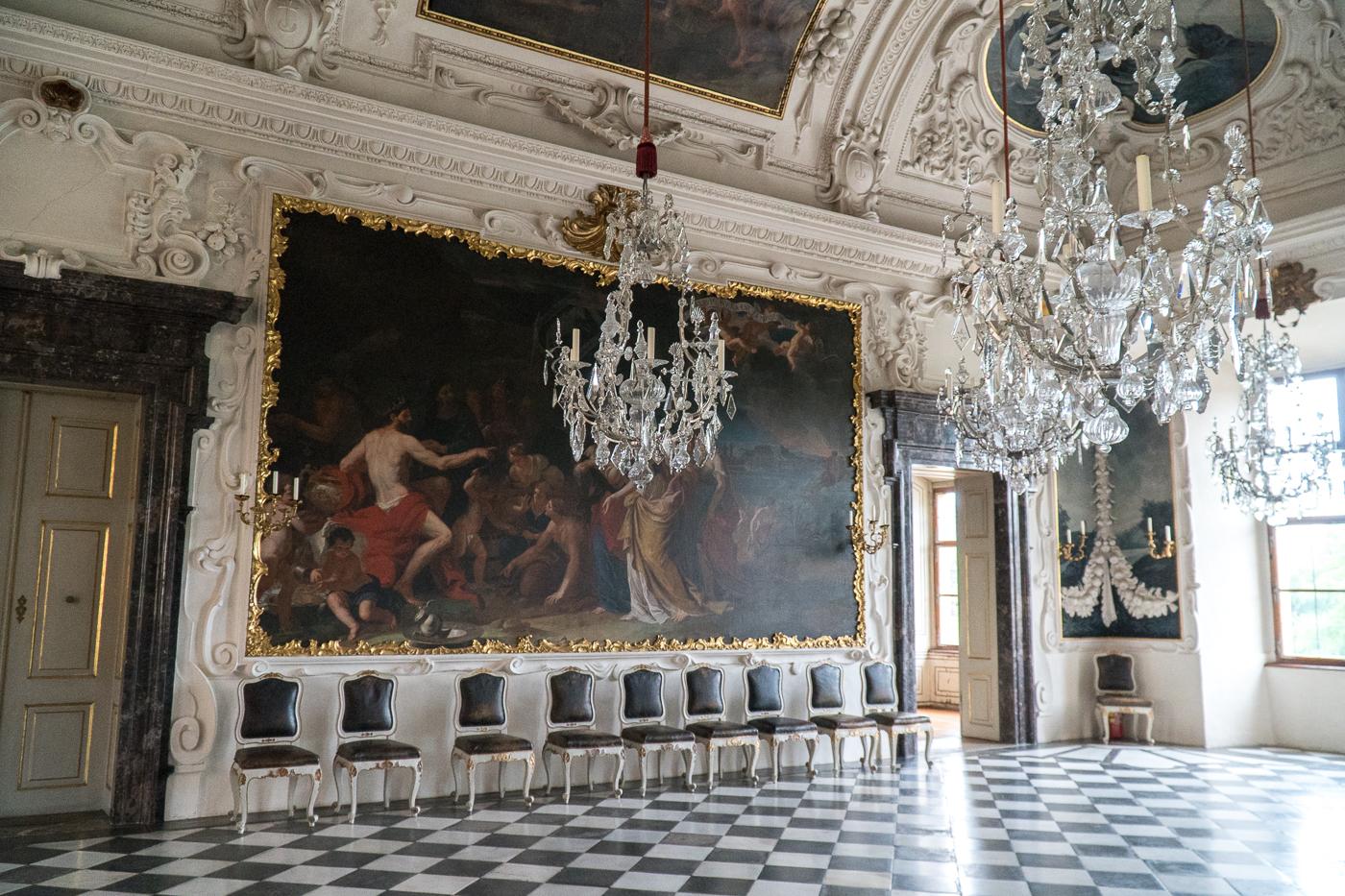 Salon intérieur du Château Eggenberg - Quoi faire à Graz