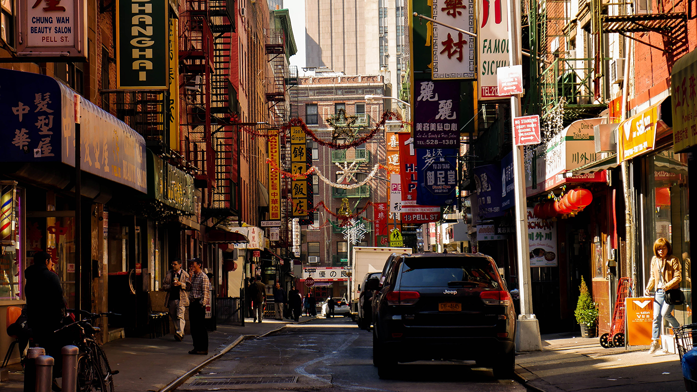 Chinatown New York Manhattan
