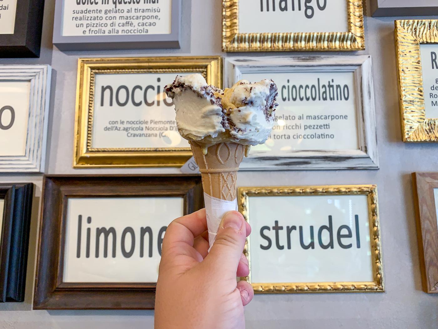 Gelateria Capolinea où manger le meilleur gelato à Parme