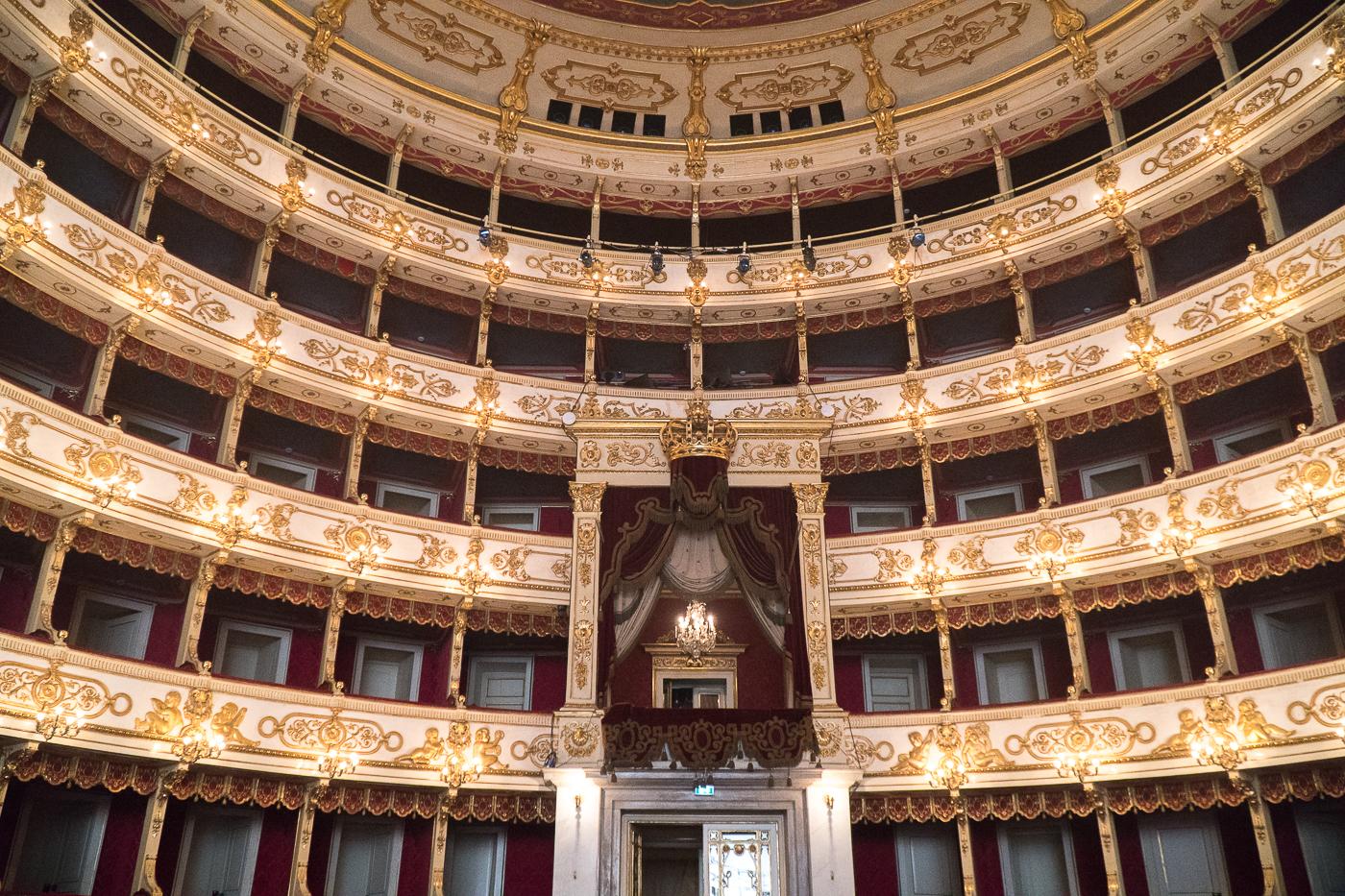 intérieur du Teatro Regio - Parma, Emilia-Romagna