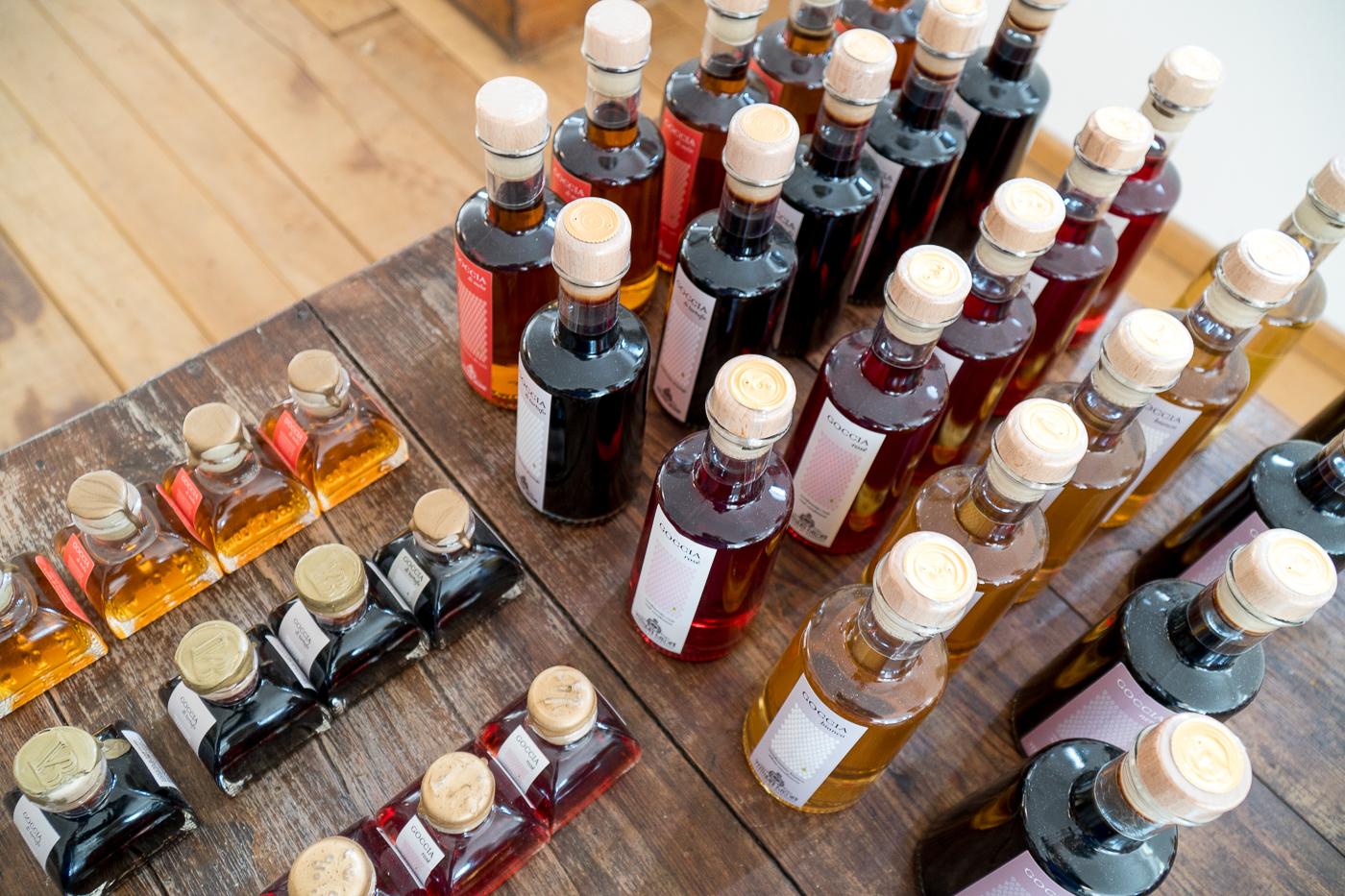 Venturini Baldini - Bouteilles de vinaigre balsamique