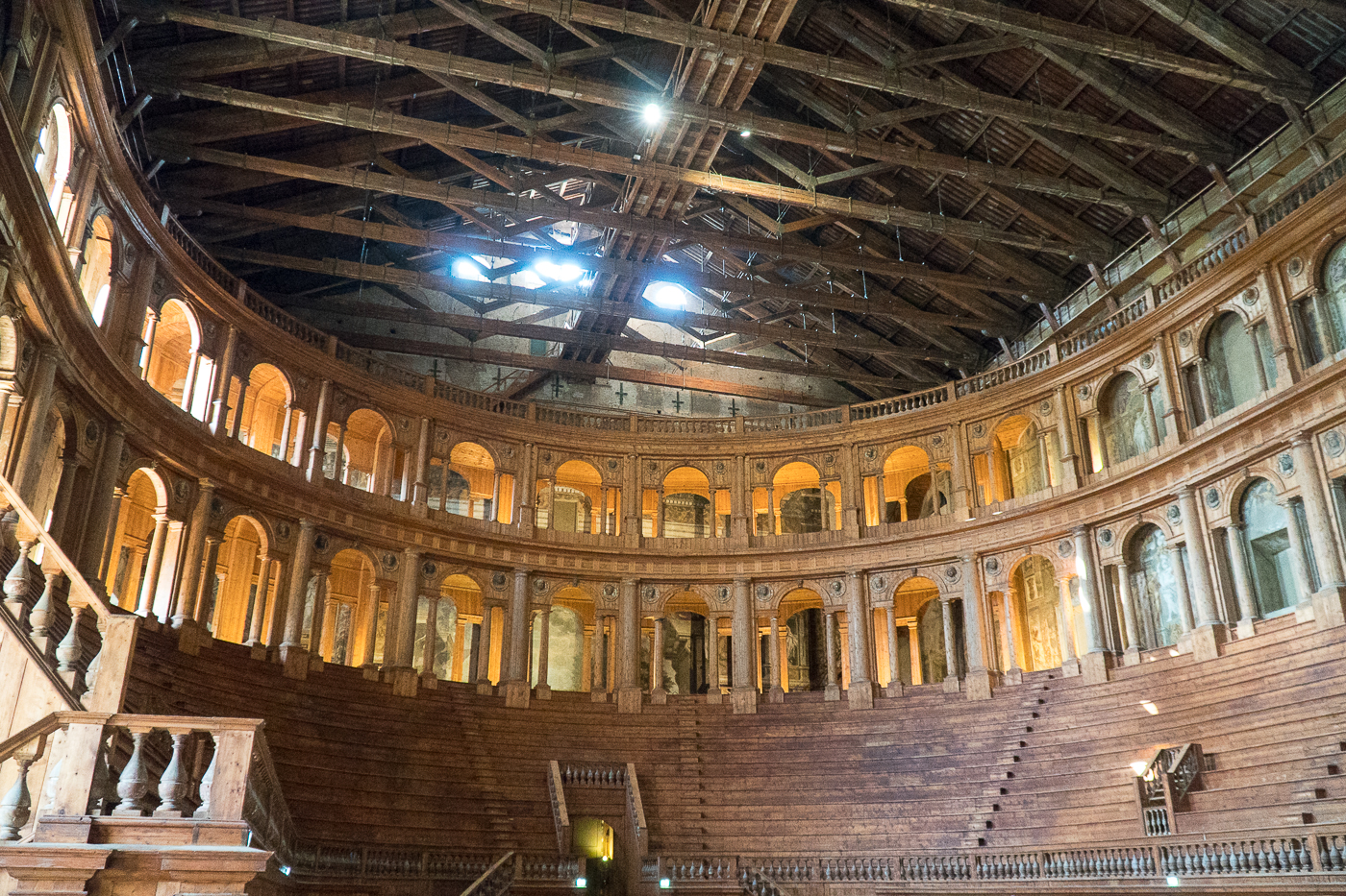 visite du Teatro Farnese de Parme en Italie