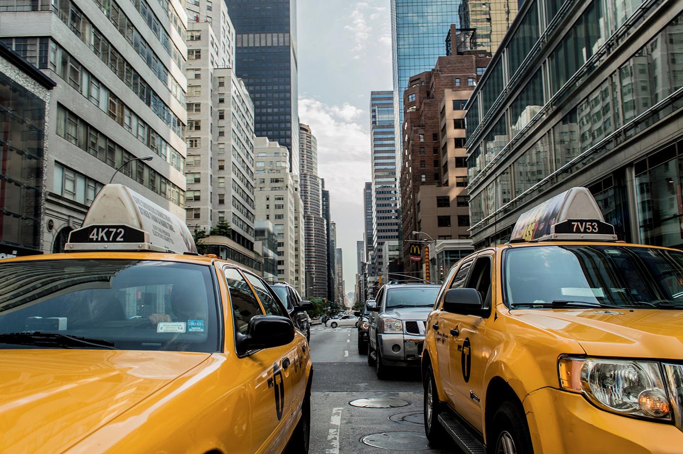 Taxi jaune Manhattan